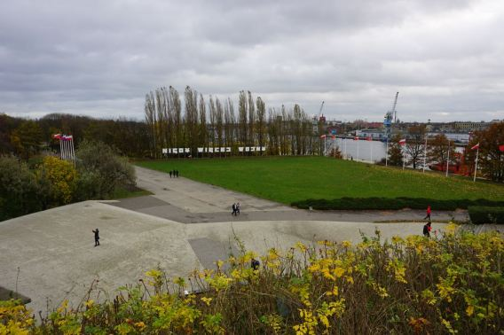 Uitzicht vanaf monument Westerplatte | Polen | Gdansk
