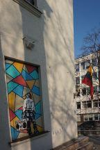 Geležinis Kablys | Cultuurgebouw spoorwegvakbond | Litouwen | Vilnius | februari 2018 | © Martijn Haan