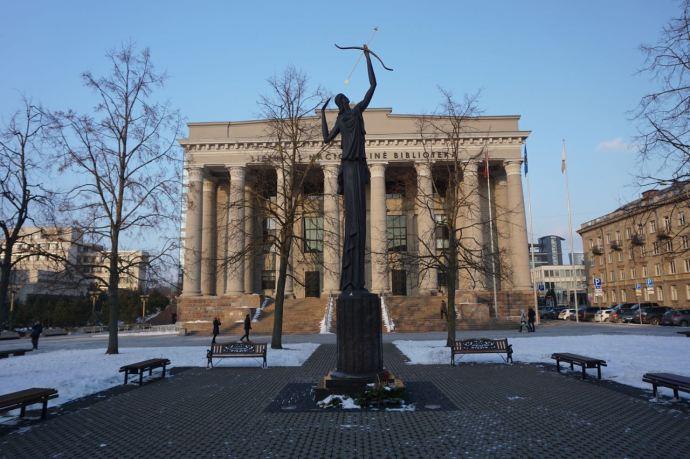 Nationale bibliotheek | Vilnius | Litouwen