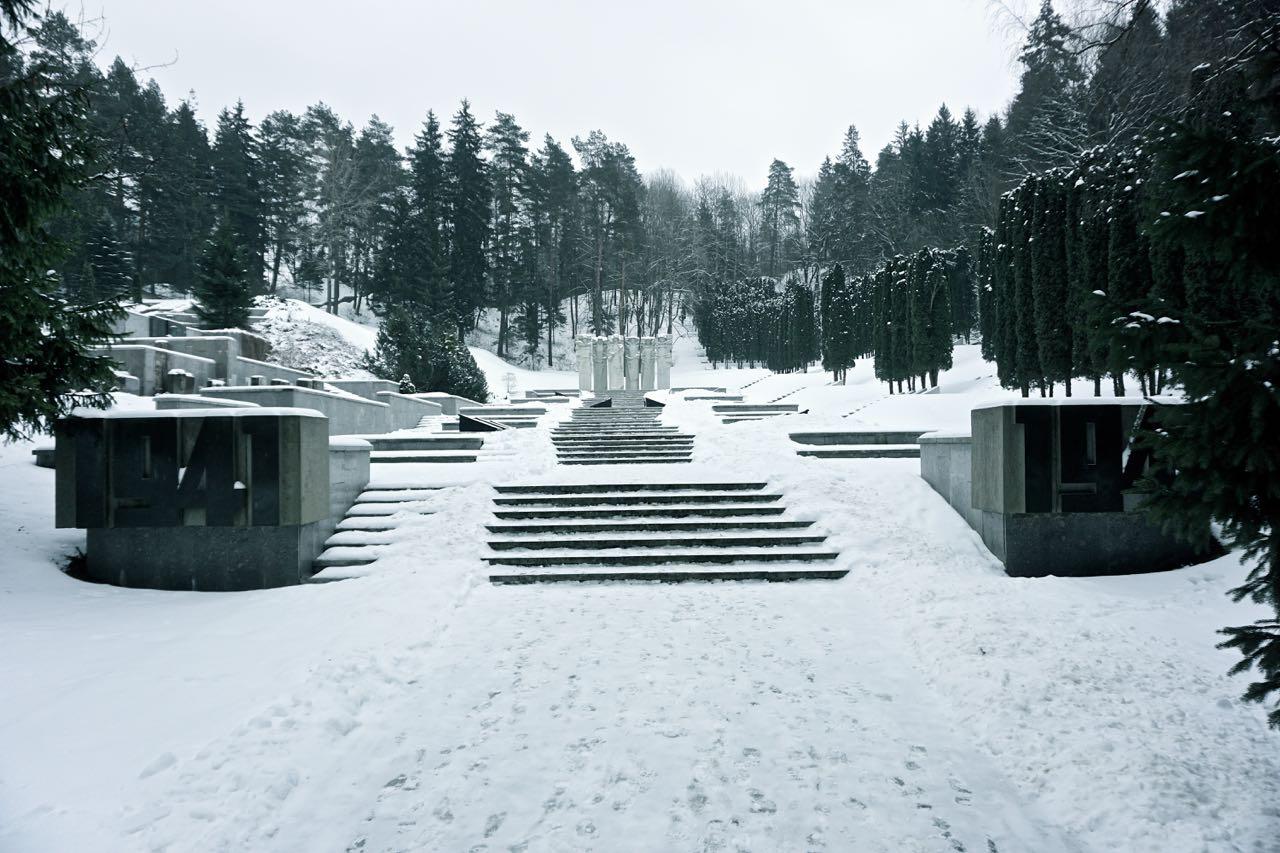 Antakalnio begraafplaats, gedenkteken voor Sovjet-soldaten | Vilnius | Litouwen
