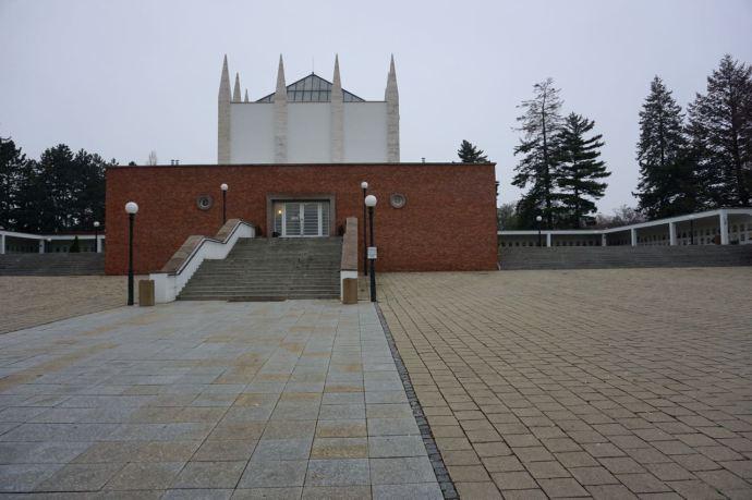 Crematorium | Brno | Tsjechië | november 2018