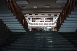 Interieur nationale bibliotheek | Kosovo | Pristina