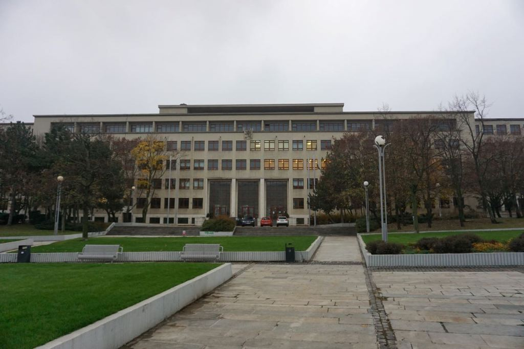 Faculteit Bouwkunde | Bratislava | Slowakije | november 2018 | © Martijn Haan