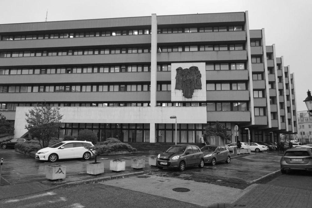 Ministerie van Justitie | Bratislava | Slowakije | november 2018 | © Martijn Haan