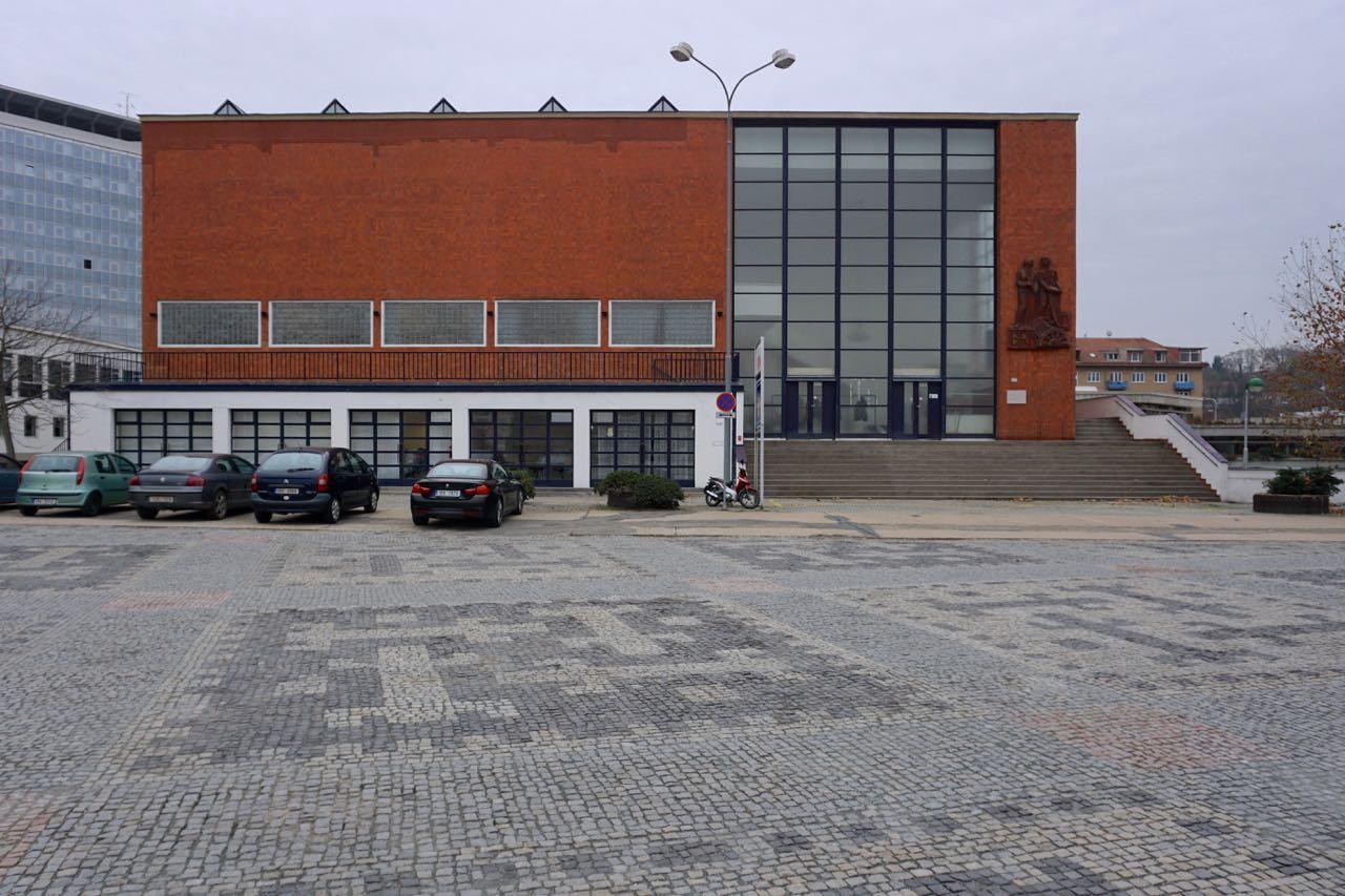 Tentoonstellingsterrein, Paviljoen van de stad Brno | Brno | Tsjechië | november 2018 | © Martijn Haan