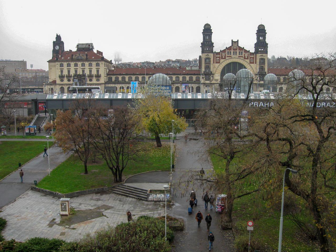 Centraal station | Praag | Tsjechië | november 2010