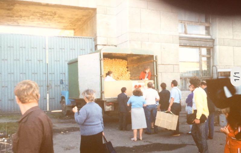 Blitzverkauf | Moskou | Sovjet-Unie 1989