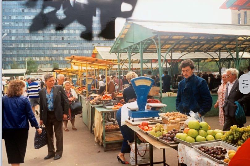 Kolchozmarkt | Moskou | Sovjet-Unie 1989