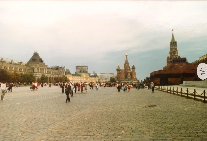 Rode Plein | Moskou | Sovjet-Unie 1989