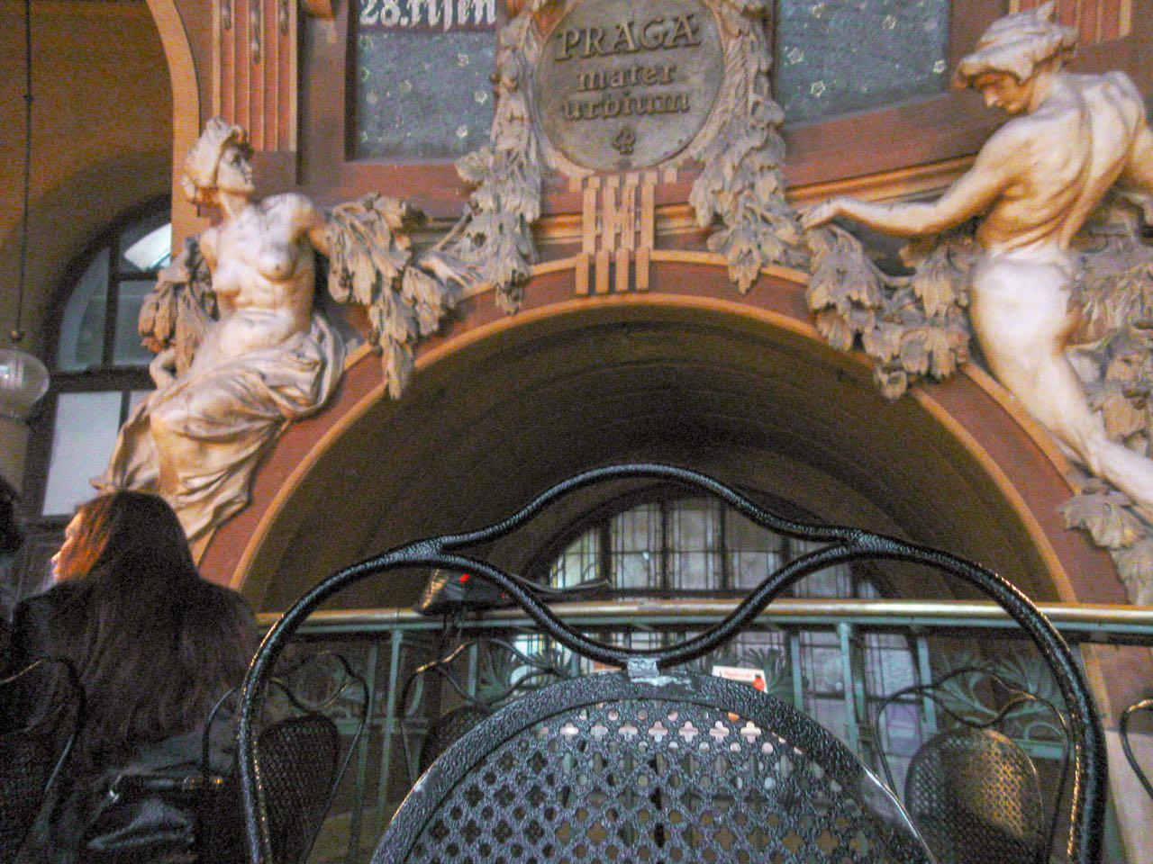 Fantova kavárna | Praag | Tsjechië | november 2010
