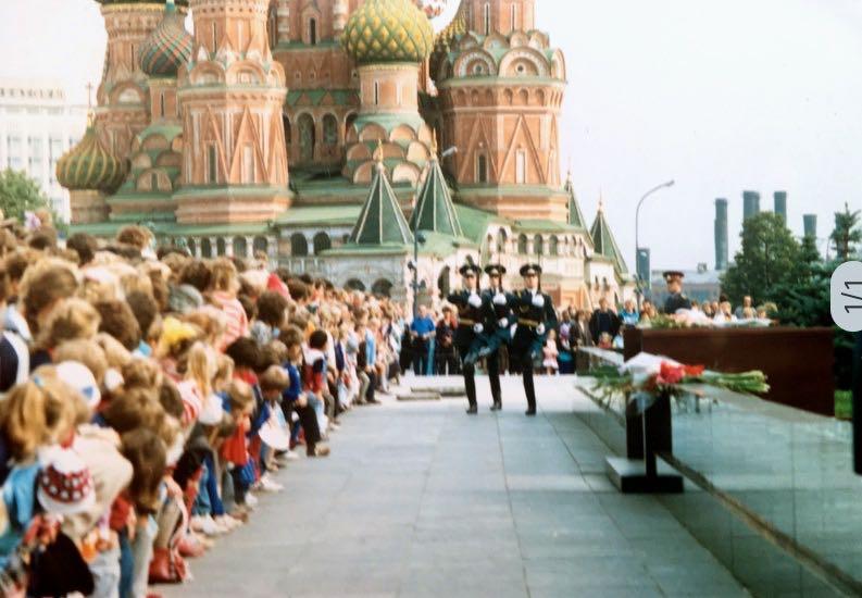 Leninmausoleum | Moskou | Sovjet-Unie 1989