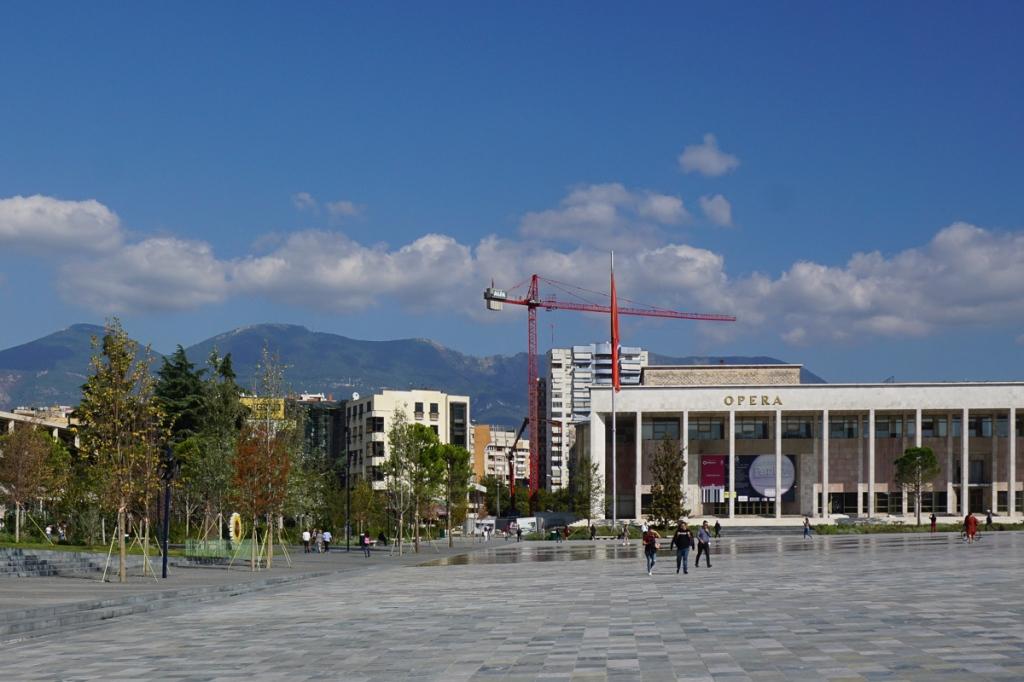 Cultuurpaleis | Tirana | Albanië