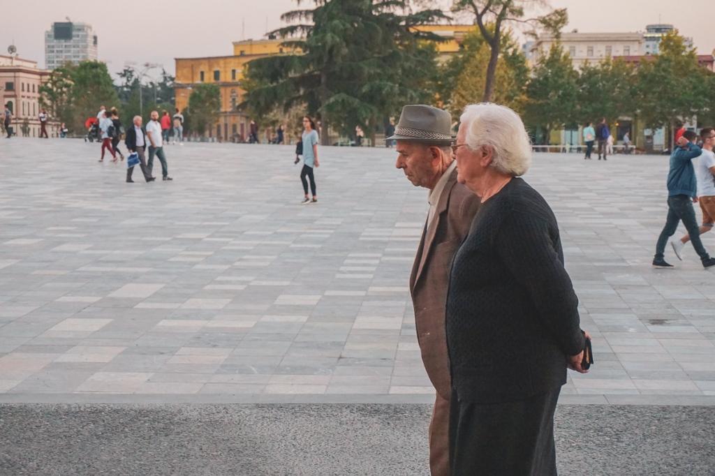 Skanderbegplein | Tirana | Albanië