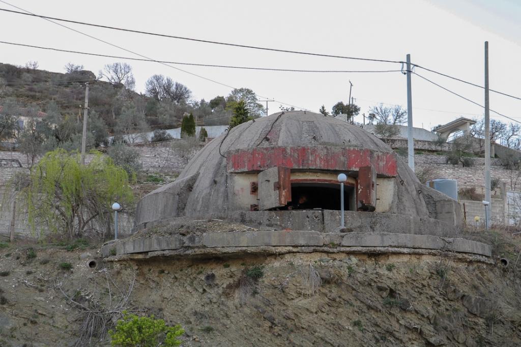 Bunker | maart 2019 | Gjirokaster | Albanië