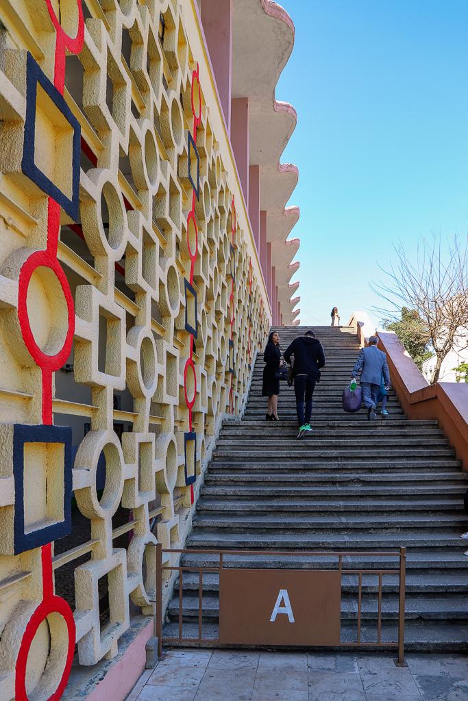 Sportpaleis Asllan Rusi | maart 2019 | Tirana | Albanië