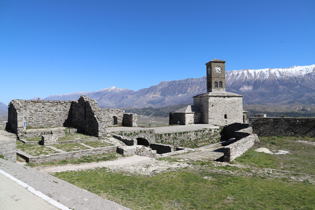Kasteel van Gjirokastër | Gjirokaster | Albanië