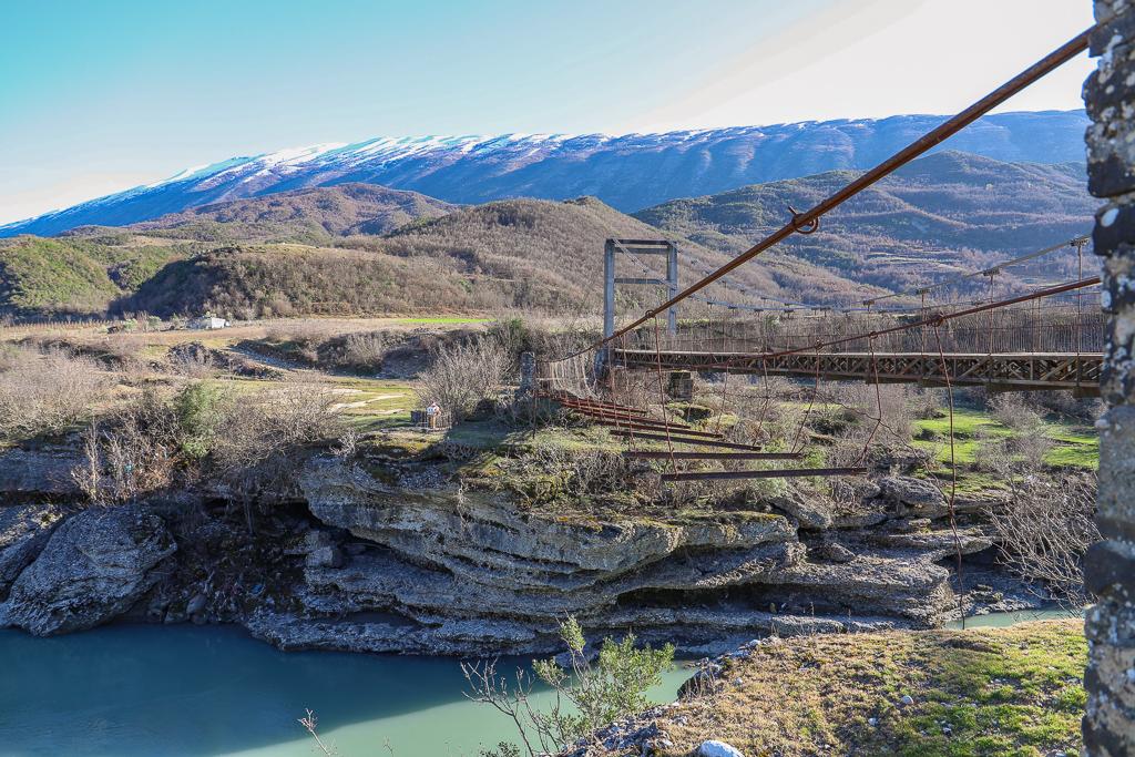 Bruggetje nabij Permët | Albanië