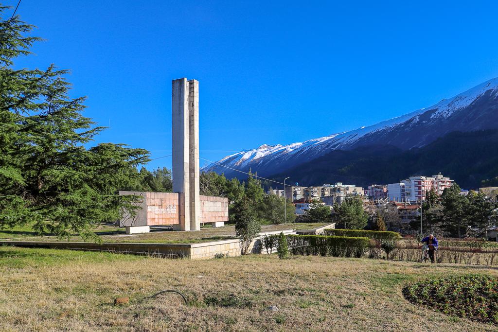 Partizanenmonument | Permët | Albanië