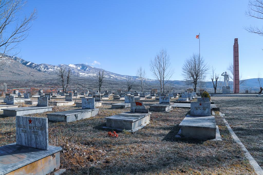 Partizanenbegraafplaats | Ersekë | Albanië