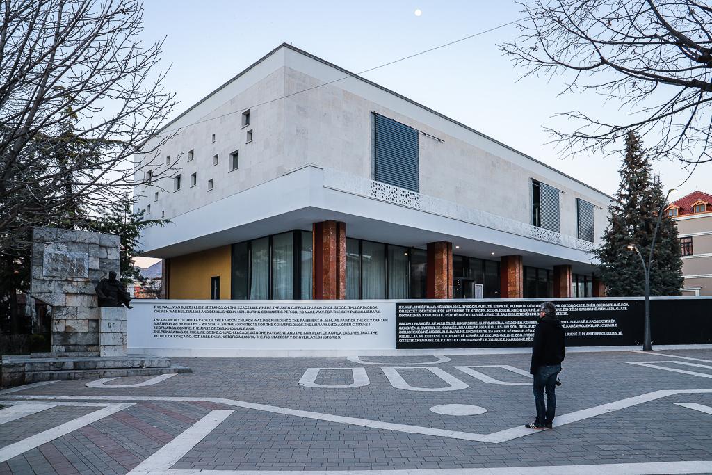 Bibliotheek | Korçë | Albanië