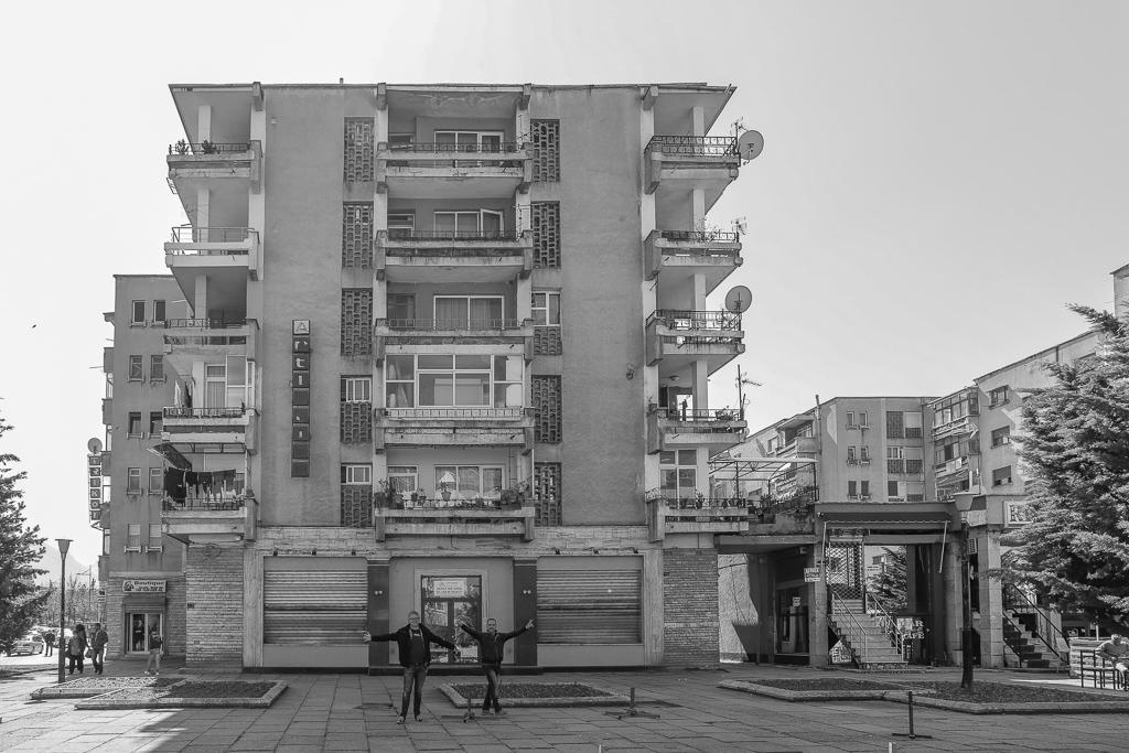 Plattenbau | Korçë | Albanië