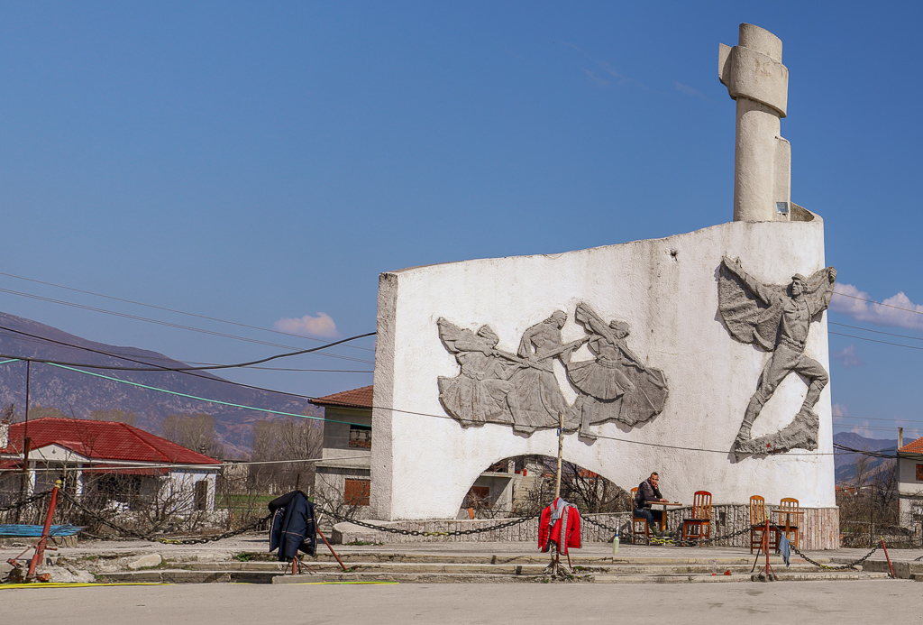 Partizanenmonument | Korçe | Albanië