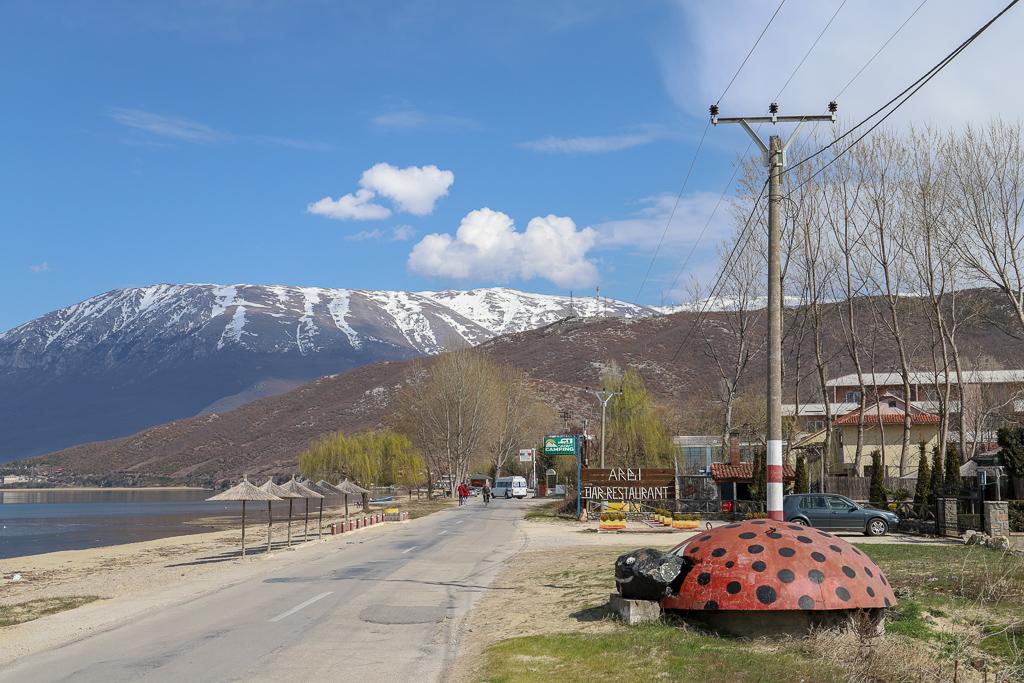 Bunker bij Meer van Ohrid | Pogradec | Albanië