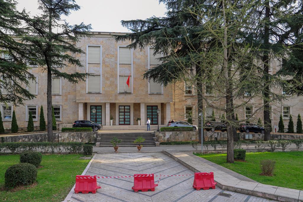 Kryeministria | Presidentsgebouw | Tirana | Albanië