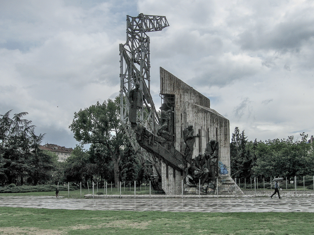 Monument 1300 jaar Bulgarije | Sofia | Bulgarije