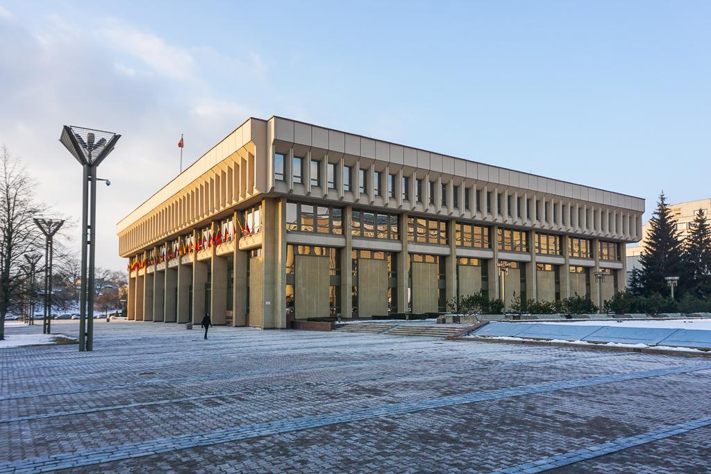 Parlementsgebouw | Vilnius | Litouwen