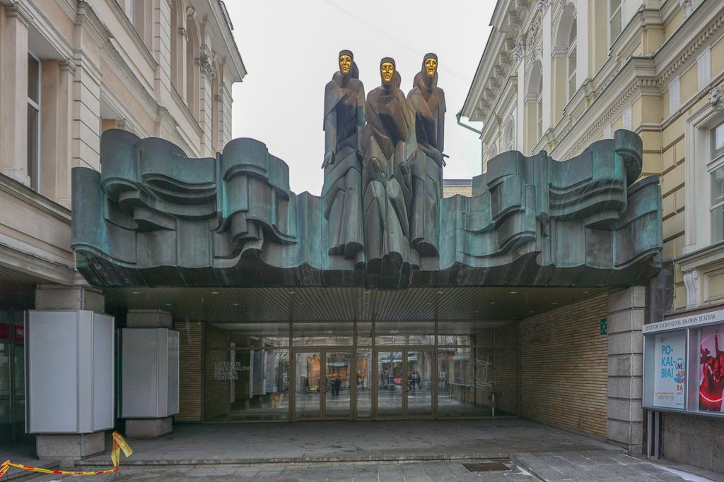 Nationaal Theater | Feest van de Muzen | Vilnius | Litouwen