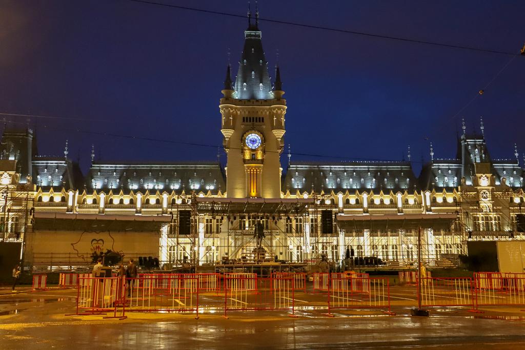 Paleis van Cultuur | Iasi | Roemenië