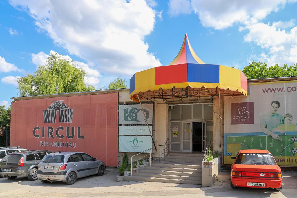 Tijdelijke circus | Chisinau | Moldavië