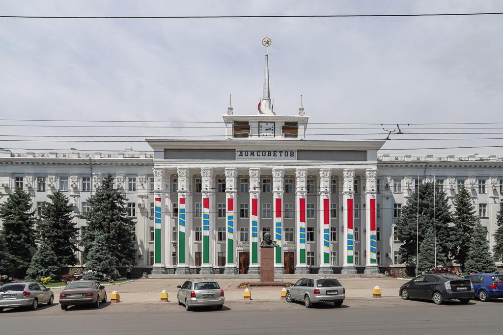 Huis van de Sovjets | Tiraspol | Transnistrië