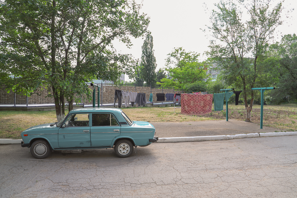 Was en auto | Tiraspol | Transnistrië