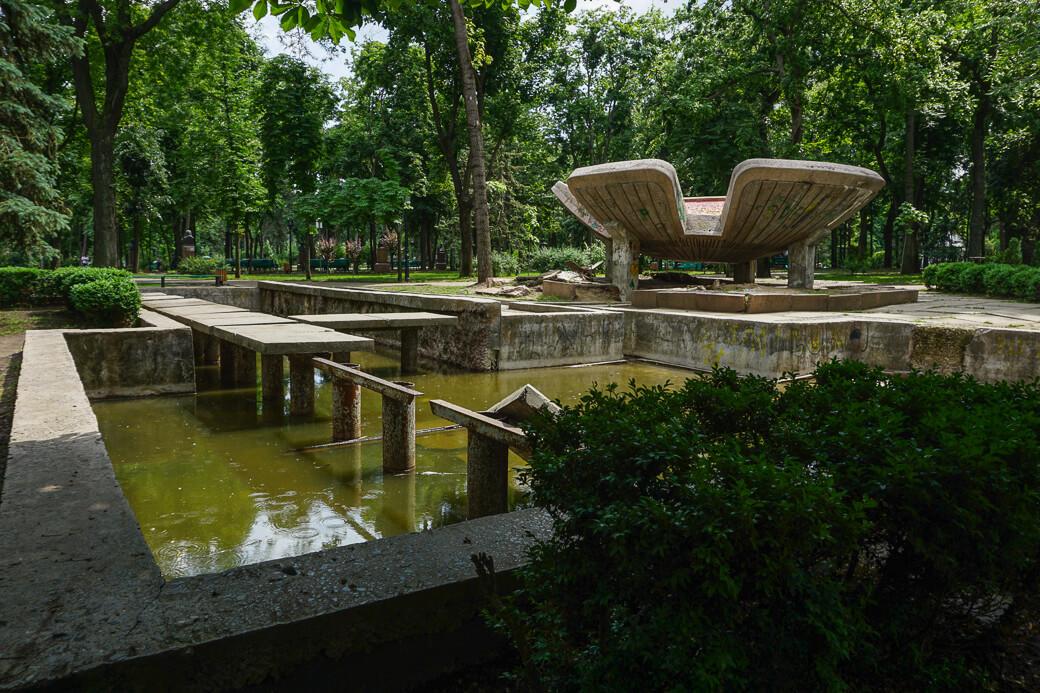 Mozaïek lotusbloem | Chisinau | Moldavië