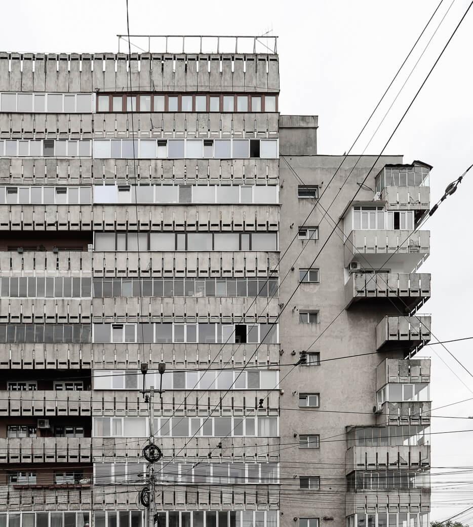 Bloc aan Strada Arcu | Iasi | Roemenië