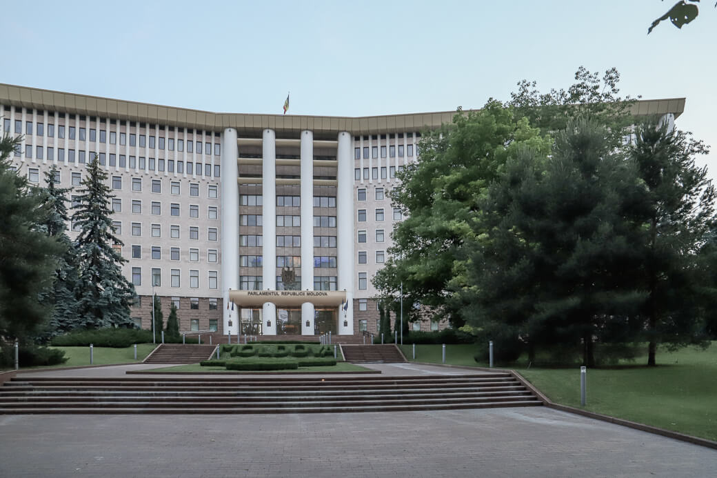 Parlementsgebouw | Chisinau | Moldavië