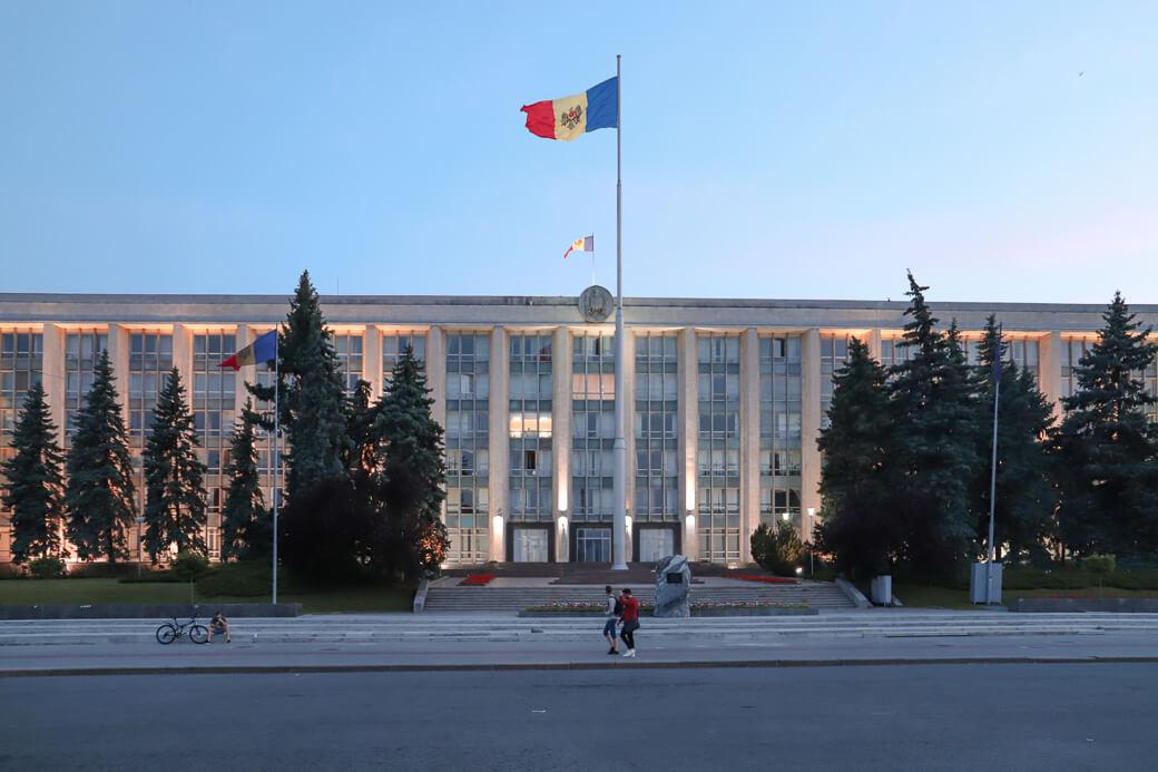 Huis van de Regering | Casa Guvernului | Chisinau | Moldavië