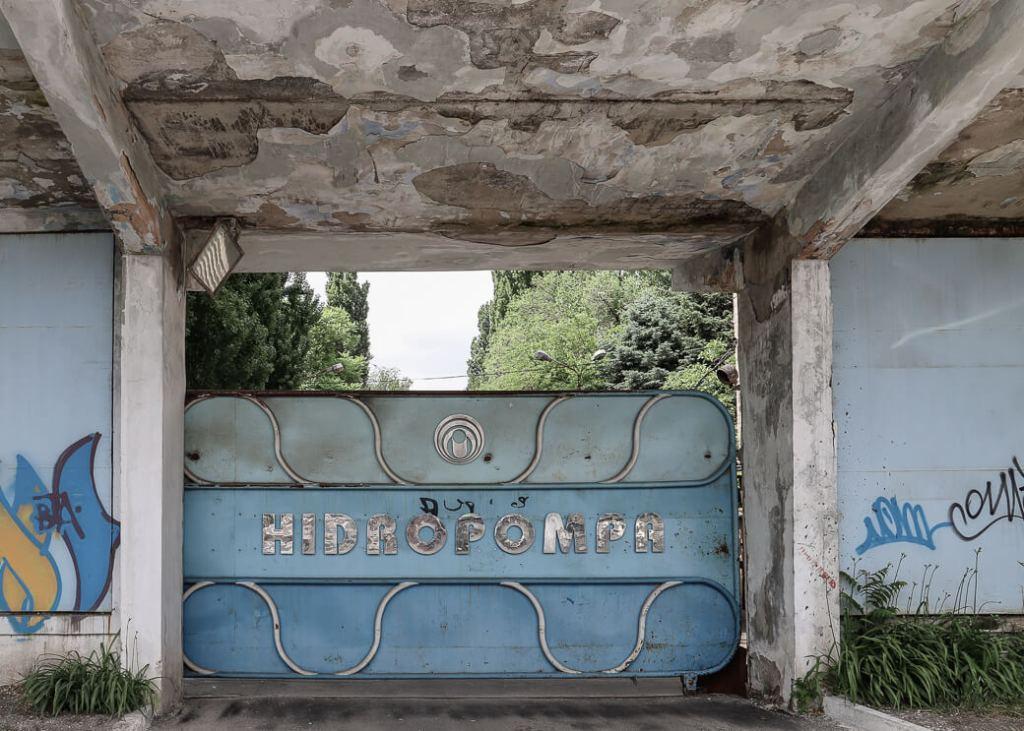 Hidropompa van Chisinau, Moldavië