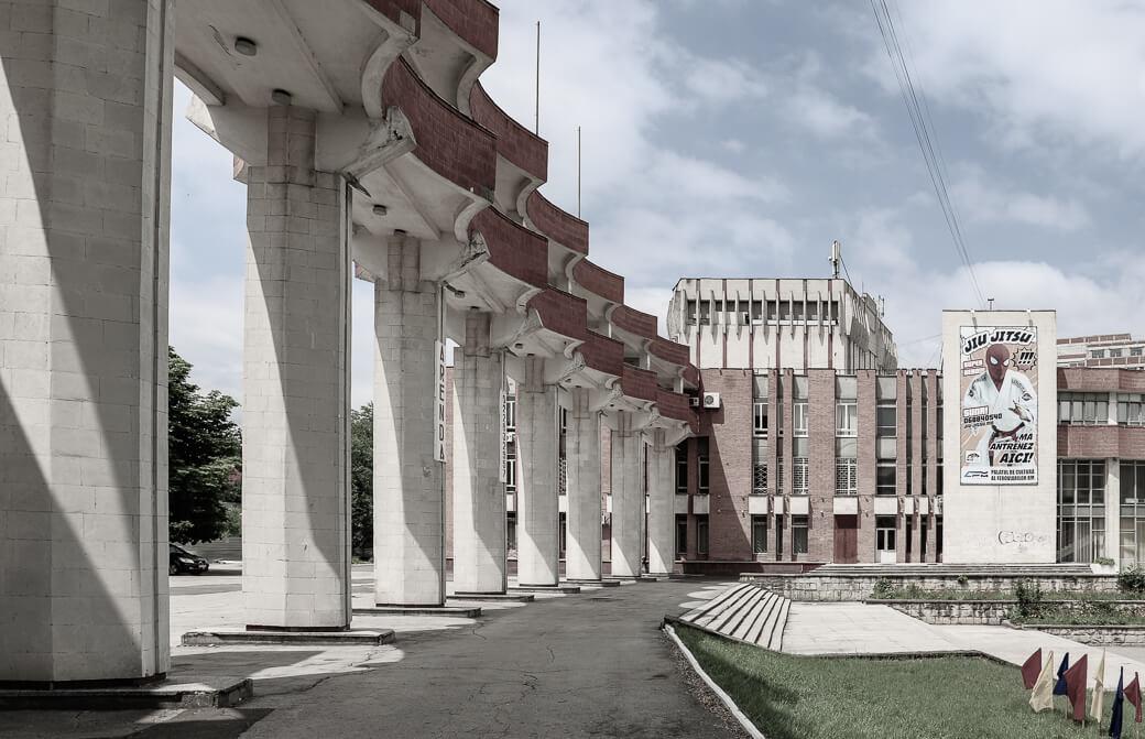 Cultuurpaleis voor de spoorwegarbeiders | Chisinau | Moldavië