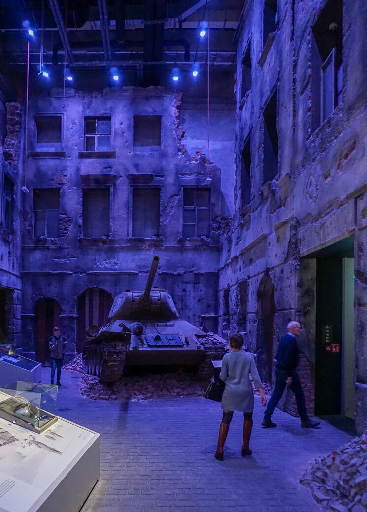 Museum van WOII | Muzeum II Wojny Światowej | Gdansk | Polen