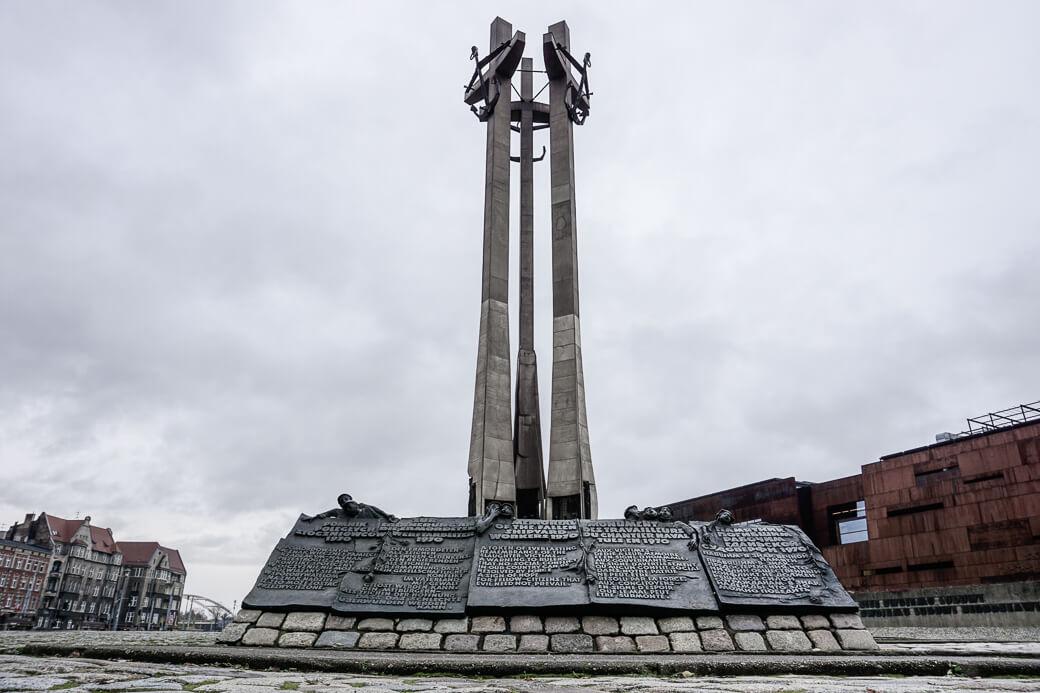 Monument Solidariteit | Gdansk | Polen
