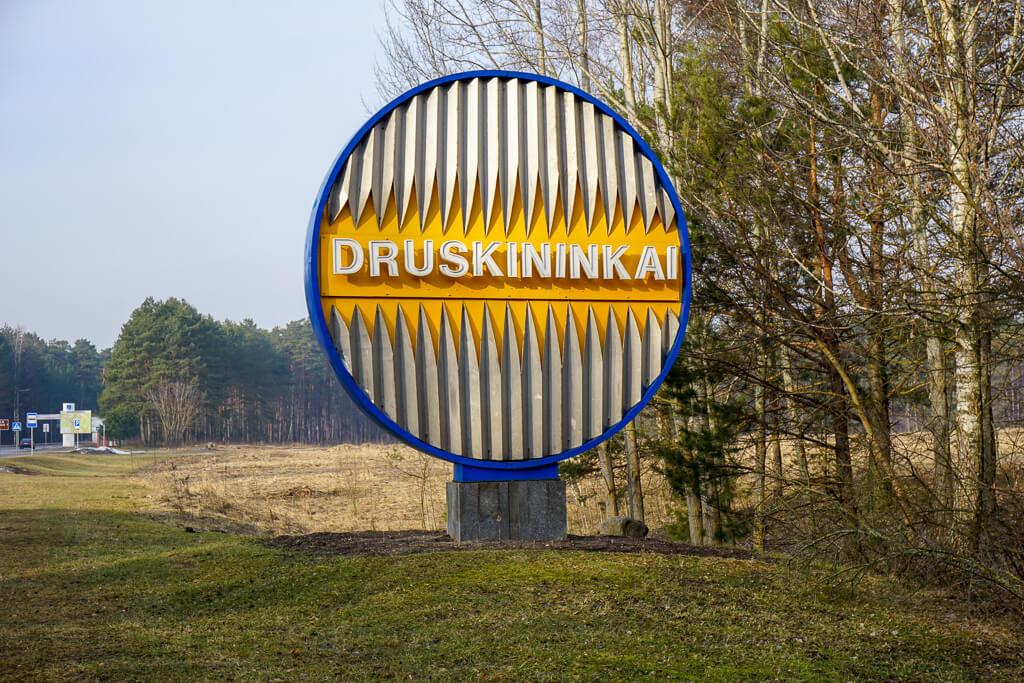 Gemeentebord | Druskininkai | Litouwen
