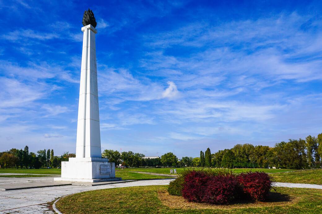 Monument Eeuwige Vlam - Večna vatra | Belgrado | Servië