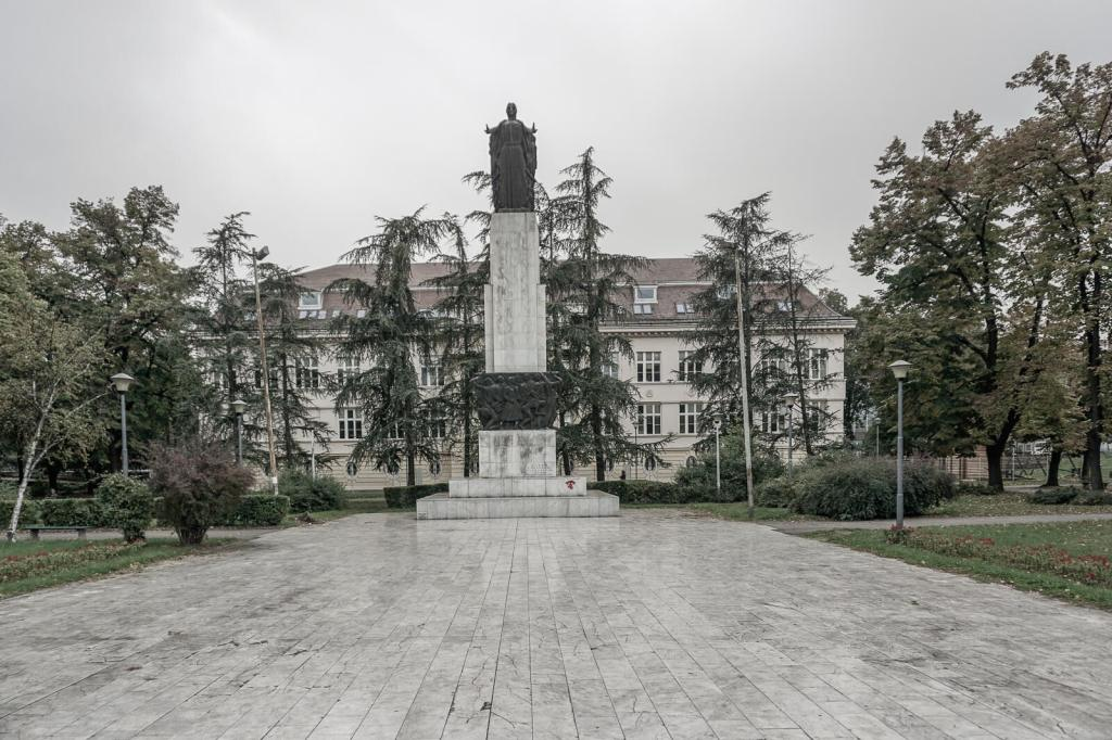 Monument voor de gevallenen 1941-1945, Avijatičarski Trg | Belgrado | Servië