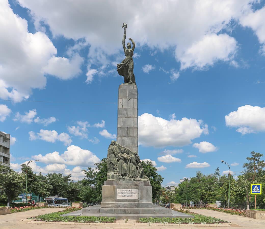 Komsomol Monument Monument | Chisinau | Moldavië