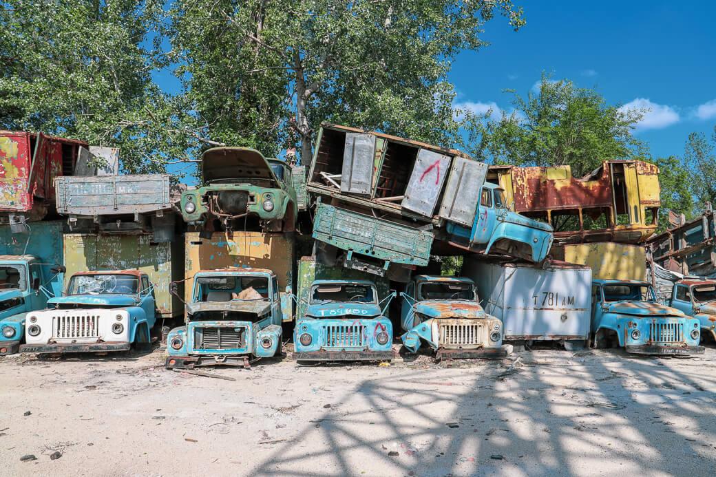 Autodump | Tiraspol | Transnistrië
