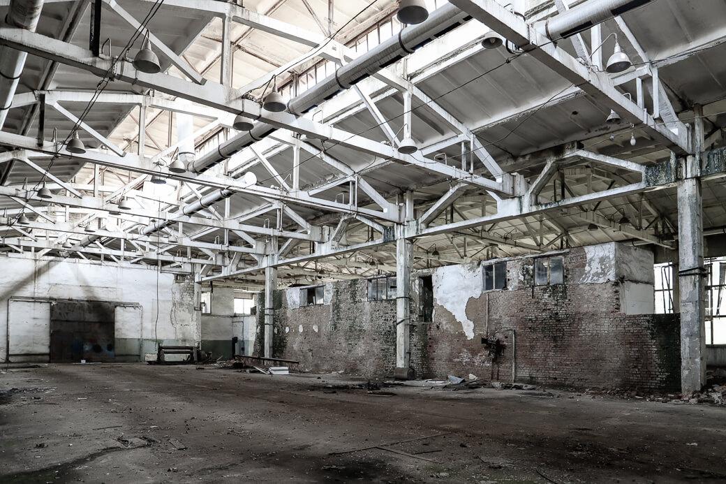 Verlaten fabriek | Tiraspol | Transnistrië