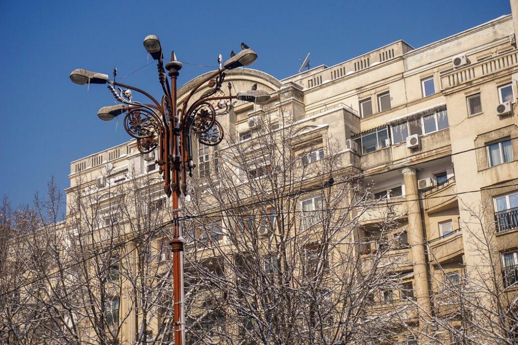 Boulevard van de eenheid | Boekarest | Roemenië